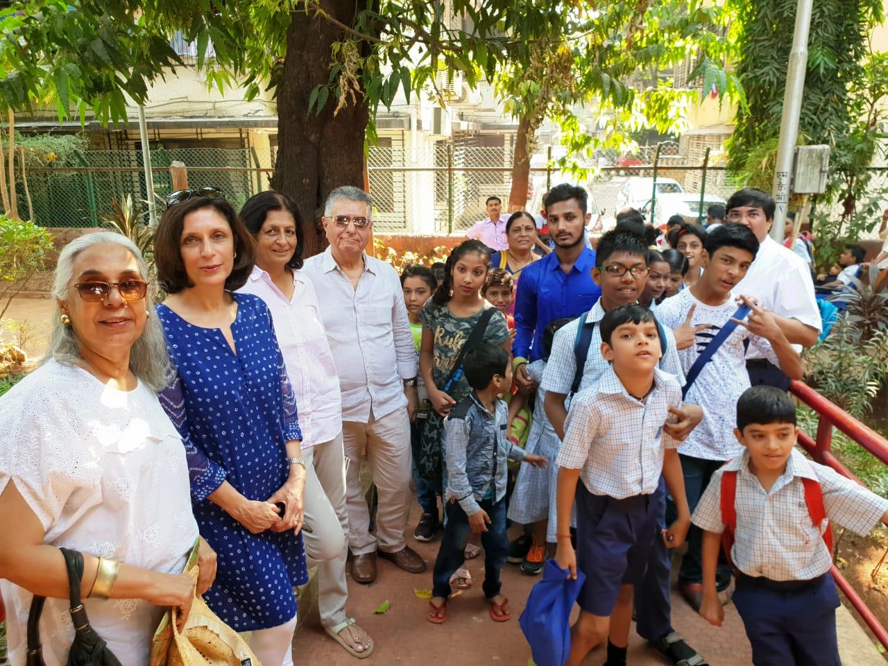 Nov 2018 Annual School Picnic Members of the Inner Wheel Club of Bombay who sponsored the picnic