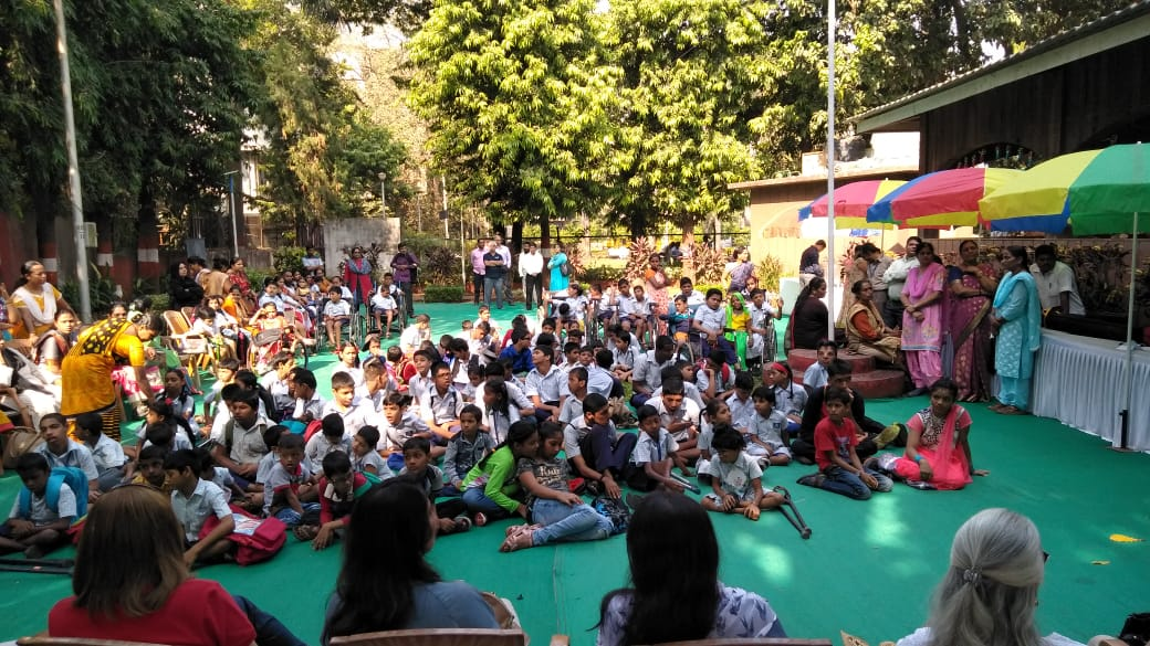 Nov 2018 Annual school picnic Students and Staff